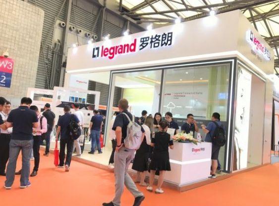 罗格朗精彩亮相2018上海国际智能建筑展刻字机